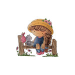 LDRS Creative - CandiBean Collection - Cling Mounted Rubber Stamps - Shall We Have Lunch