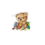 LDRS Creative - CandiBean Collection - Cling Mounted Rubber Stamps - Honey Pot