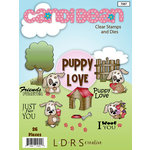 LDRS Creative - Designer Dies and Clear Acrylic Stamps - Puppy Love