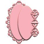 LDRS Creative - Designer Dies - Gilded Oval
