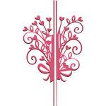 LDRS Creative - Designer Dies - Lock-Itz - Heart Bouquet