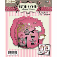 LDRS Creative - Designer Dies - Garden Escape Build-A-Card
