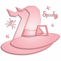 LDRS Creative - Halloween - Designer Dies - Build-a-Card - Spooky Hat