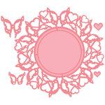 LDRS Creative - Designer Dies - Butterfly Wreath