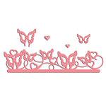 LDRS Creative - Designer Dies - Butterfly Border