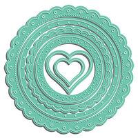 LDRS Creative - Designer Dies - Scalloped Circle Frame