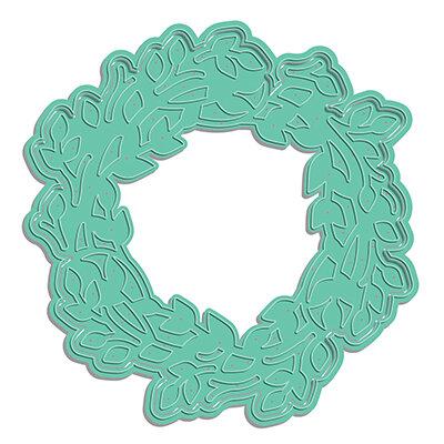 LDRS Creative - Designer Dies - Garden Wreath