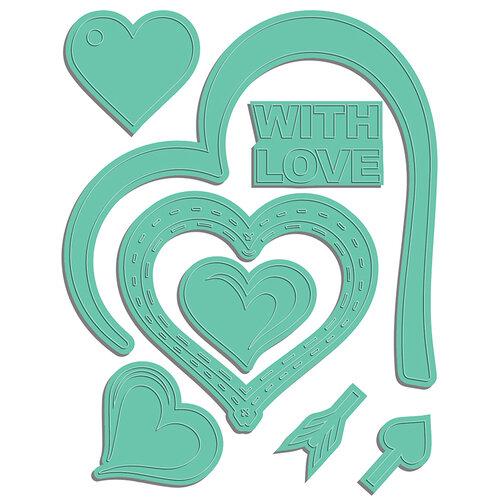LDRS Creative - Open Hearts Collection - Designer Dies - Open Heart