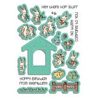 LDRS Creative - Coordinating Die Set - Bunny Band Pals Coordinating Die Set