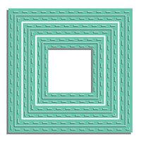 LDRS Creative - Designer Dies - Stitched Square Die Set