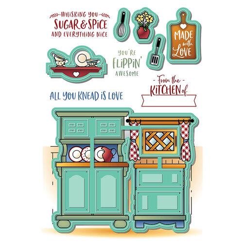 LDRS Creative - Designer Dies - Country Kitchen Pocket Pusher