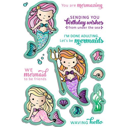 LDRS Creative - Coordinating Die Set - Mermaid Treasures Coordinating Die Set
