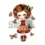 LDRS Creative - Dollhouse Collection - Cling Mounted Rubber Stamps - Fly By