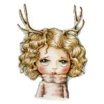 LDRS Creative - Dollhouse Collection - Cling Mounted Rubber Stamps - Oh Deer