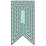 LDRS Creative - Designer Dies - Basic Stitched Flags