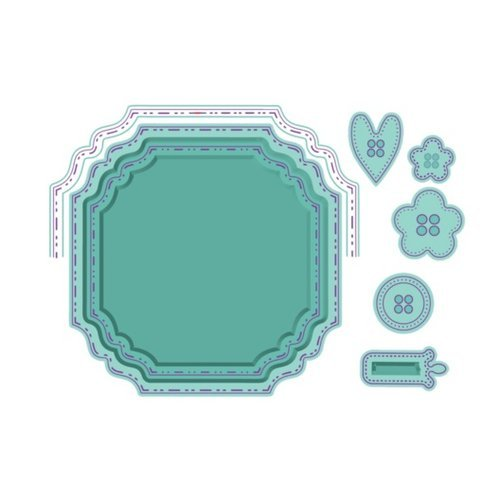 LDRS Creative - Designer Dies - Fancy Squares and Little Things