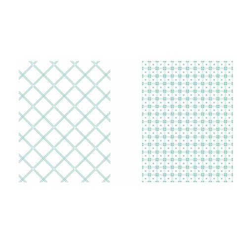LDRS Creative - Embossing Folder - Picnic Quilt