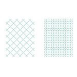 LDRS Creative - Embossing Folder - Picnic Quilt