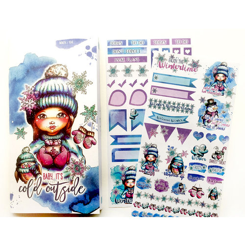 LDRS Creative - Cre8tive Cre8tions Collection - Travel Planner - Winter - Undated