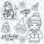 LDRS Creative - Clear Acrylic Stamps - Hot Chocolate