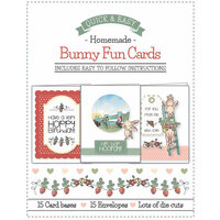 LDRS Creative - Card Kit - Bunny Fun Cards - 15 Card Kit