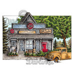 LDRS Creative - DoveArt Studios Collection - Cling Mounted Rubber Stamps - General Store