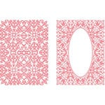 LDRS Creative - Embossing Folder - Gilded Oval