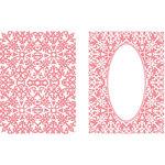 LDRS Creative - Embossing Folder - Gilded Oval