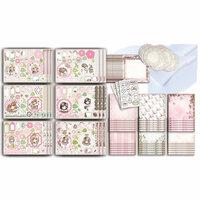 LDRS Creative - Polkadoodles Collection - Card Kit - Sugar Blossom