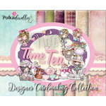 LDRS Creative - Polkadoodles Collection - Card Kits - Time For Tea