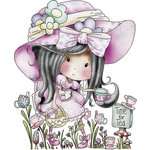 LDRS Creative - Polkadoodles Collection - Cling Mounted Rubber Stamps - Pick Your Own Tea