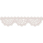 LDRS Creative - Polkadoodles Collection - Designer Dies - Dainty Doily Border