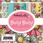 LDRS Creative - Polkadoodles Collection - 6 x 6 Paper Pack - Daisy Daisy