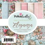 LDRS Creative - Polkadoodles Collection - 6 x 6 Paper Pack - Eleganza