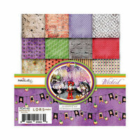 LDRS Creative - Polkadoodles Collection - 6 x 6 Paper Pack - Halloween - Wicked