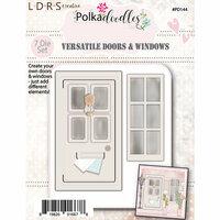 LDRS Creative - Polkadoodles Collection - Designer Dies - Doors and Windows
