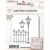 LDRS Creative - Polkadoodles Collection - Designer Dies - Lamp Post
