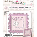 LDRS Creative - Polkadoodles Collection - Designer Dies - Ribbon Frame