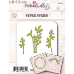 LDRS Creative - Polkadoodles Collection - Designer Dies - Sprigs