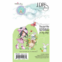 LDRS Creative - Clear Photopolymer Stamps - Holly - Bunny Tail