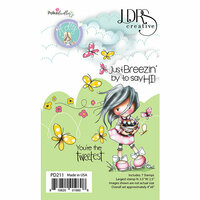 LDRS Creative - Clear Photopolymer Stamps - Holly - Just Breezing By