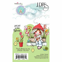 LDRS Creative - Clear Photopolymer Stamps - Holly - Spring Chicken