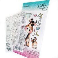 LDRS Creative - Polkadoodles Collection - Clear Photopolymer Stamps - Spot On