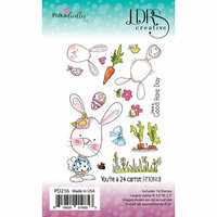 LDRS Creative - Clear Photopolymer Stamps - 24 Carrot