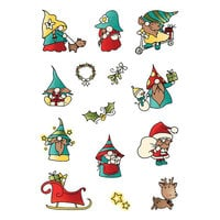 LDRS Creative - Clear Photopolymer Stamps - Christmas - Holiday Gnomes