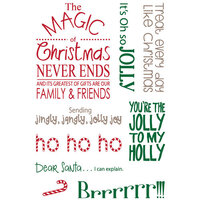 LDRS Creative - Clear Photopolymer Stamps - Magic of Christmas