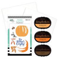 LDRS Creative - Clear Photopolymer Stamp Set - Thankful Card Making Bundle