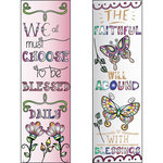 LDRS Creative - Inspired Edge Collection - Cling Mounted Rubber Stamps -Blessed