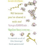 LDRS Creative - Cling Mounted Rubber Stamps -Magnolia Splendor