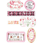 LDRS Creative - Cling Mounted Rubber Stamps - Cherished